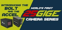 World's First Ever 25 GigE Cameras